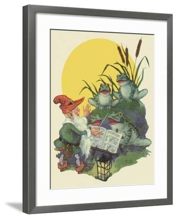 CA Fairy 32-Vintage Apple Collection-Framed Giclee Print