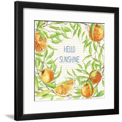 Hello Sunshine-Irina Trzaskos Studios-Framed Giclee Print