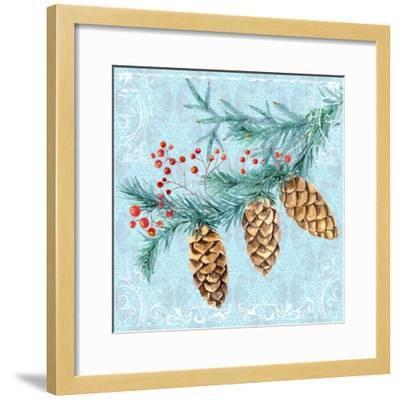Christmas V-Irina Trzaskos Studios-Framed Giclee Print