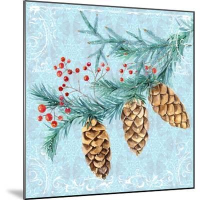 Christmas V-Irina Trzaskos Studios-Mounted Giclee Print