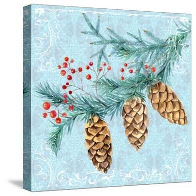 Christmas V-Irina Trzaskos Studios-Stretched Canvas Print