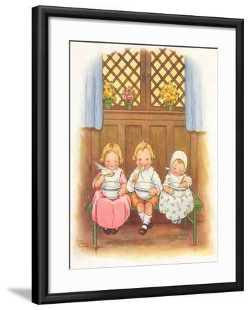 CA Fairy 42-Vintage Apple Collection-Framed Giclee Print