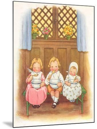CA Fairy 42-Vintage Apple Collection-Mounted Giclee Print