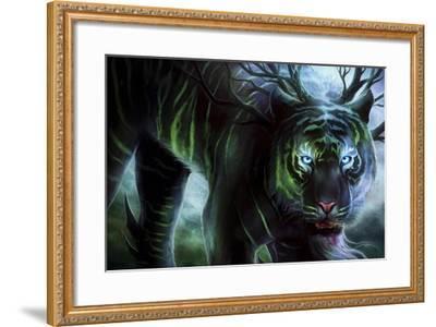 Cold Stare-JoJoesArt-Framed Giclee Print