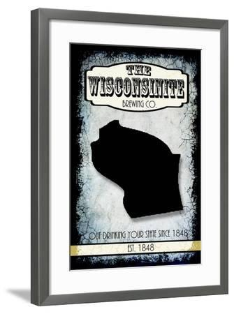 States Brewing Co Wisconsin-LightBoxJournal-Framed Giclee Print