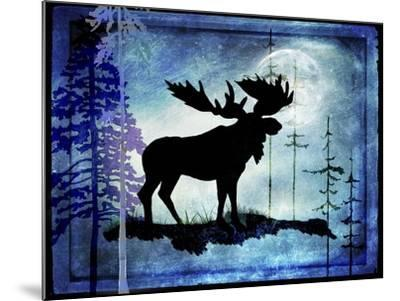 Midnight Moose-LightBoxJournal-Mounted Giclee Print
