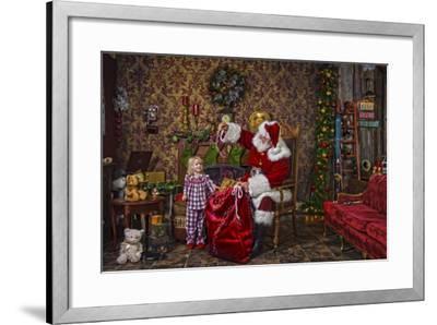 Santa-Santa?s Workshop-Framed Giclee Print