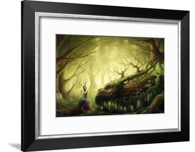 Forgotten Fairytales-JoJoesArt-Framed Giclee Print