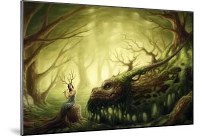 Forgotten Fairytales-JoJoesArt-Mounted Giclee Print