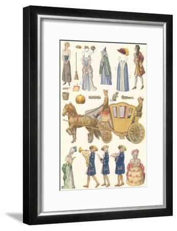 CA Fairy 62-Vintage Apple Collection-Framed Giclee Print