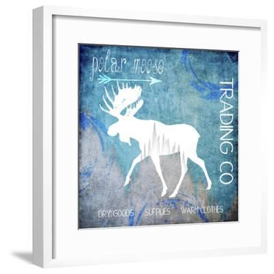 Polar Ice Moose-LightBoxJournal-Framed Giclee Print