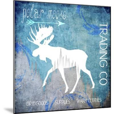 Polar Ice Moose-LightBoxJournal-Mounted Giclee Print