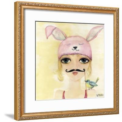 Big Eyed Girl Be Yourself-Wyanne-Framed Giclee Print