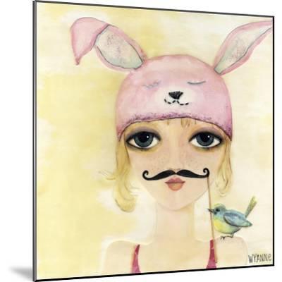 Big Eyed Girl Be Yourself-Wyanne-Mounted Giclee Print