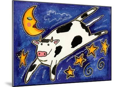 The Cow That Jumped over the Moon-Wyanne-Mounted Giclee Print