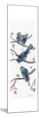Three Birdies-Wyanne-Mounted Giclee Print