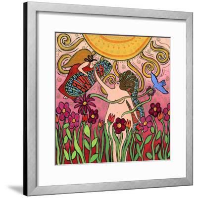 Big Diva Birth of a Goddess-Wyanne-Framed Giclee Print