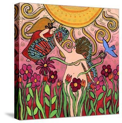 Big Diva Birth of a Goddess-Wyanne-Stretched Canvas Print