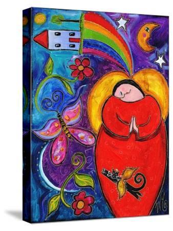 Big Diva Angel Wish-Wyanne-Stretched Canvas Print