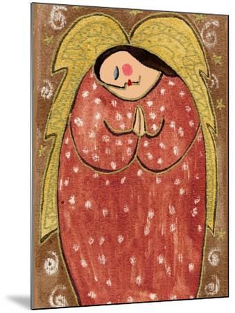 Big Diva Angel Praying-Wyanne-Mounted Giclee Print
