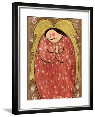 Big Diva Angel Praying-Wyanne-Framed Giclee Print
