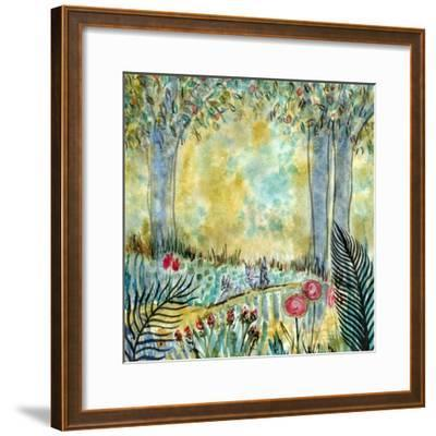 Three Rabbits-Wyanne-Framed Giclee Print