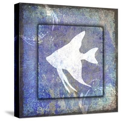 Beach House Fish-LightBoxJournal-Stretched Canvas Print