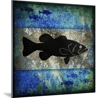 Fishing Rules Bass-LightBoxJournal-Mounted Giclee Print
