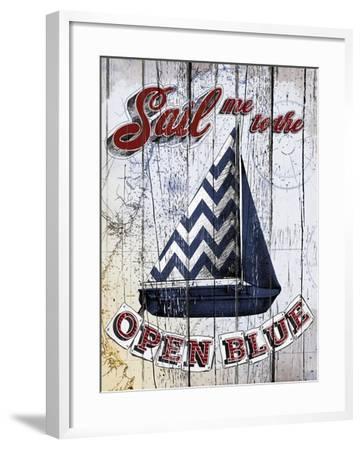 Sail Me-Art Licensing Studio-Framed Giclee Print