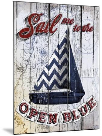 Sail Me-Art Licensing Studio-Mounted Giclee Print