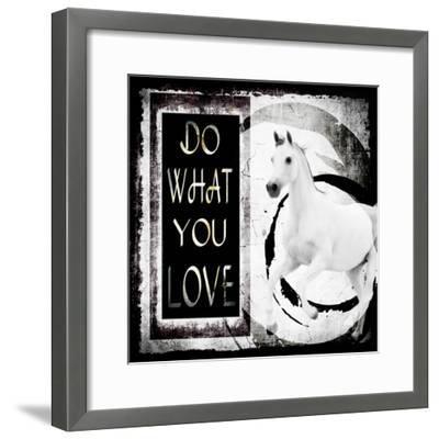 Must Love Horses - Do What You Love-LightBoxJournal-Framed Giclee Print