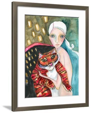 Bad Kitty-Wyanne-Framed Giclee Print
