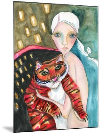 Bad Kitty-Wyanne-Mounted Giclee Print