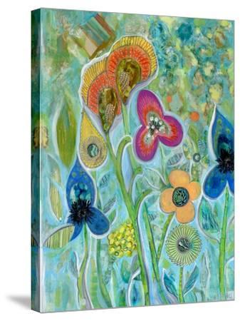 Garden Wild-Wyanne-Stretched Canvas Print