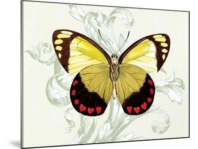 Butterfly Theme II-Susan Davies-Mounted Art Print