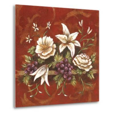 Jaipur Blossoms I-Fiona Demarco-Metal Print