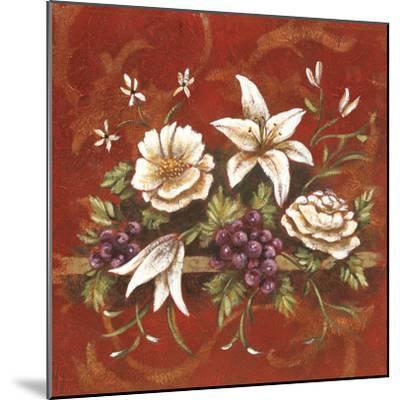 Jaipur Blossoms I-Fiona Demarco-Mounted Art Print