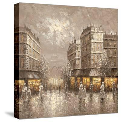 City of Light-Gerard Letellier-Stretched Canvas Print