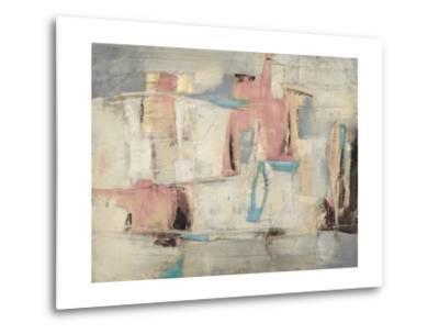 Abstract Cocktail Party 4 - Pastel-Gabriela Villarreal-Metal Print