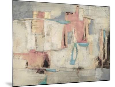Abstract Cocktail Party 4 - Pastel-Gabriela Villarreal-Mounted Art Print
