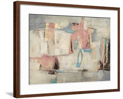 Abstract Cocktail Party 4 - Pastel-Gabriela Villarreal-Framed Art Print