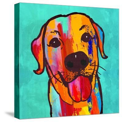 Lab Happy!-Evangeline Taylor-Stretched Canvas Print