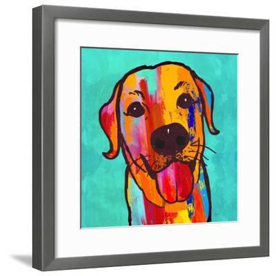Lab Happy!-Evangeline Taylor-Framed Art Print