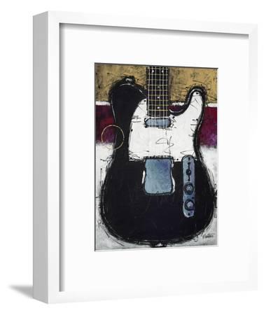 Electric Black-Bruce Langton-Framed Premium Giclee Print