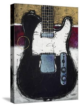 Electric Black-Bruce Langton-Stretched Canvas Print