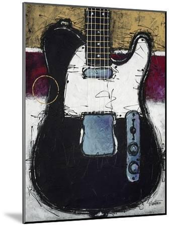 Electric Black-Bruce Langton-Mounted Art Print