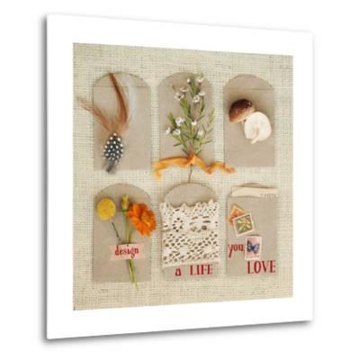 Design a Life You Love-Mandy Lynne-Metal Print
