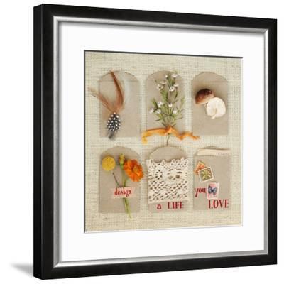 Design a Life You Love-Mandy Lynne-Framed Art Print