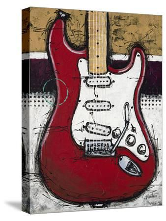 Electric Red-Bruce Langton-Stretched Canvas Print