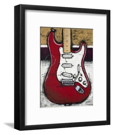 Electric Red-Bruce Langton-Framed Premium Giclee Print